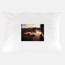 Scarlet Reflections Pillow Case