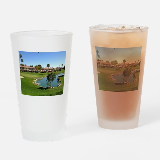 At the Turn Drinking Glass