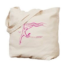 I Make it Good Cancer Run Tote Bag