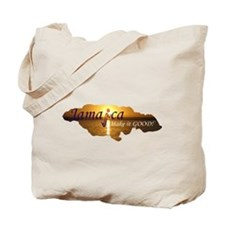 Jamaica Sunset I Make it Good Tote Bag