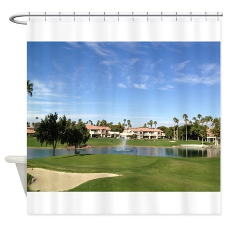 Hole 10 Shower Curtain