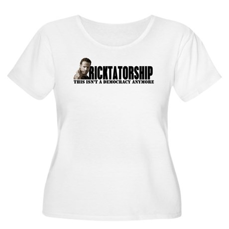 Ricktatorship Women's Plus Size Scoop Neck T-Shirt