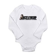 Ricktatorship Long Sleeve Infant Bodysuit