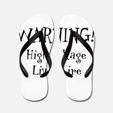 High Voltage Live Wire Flip Flops