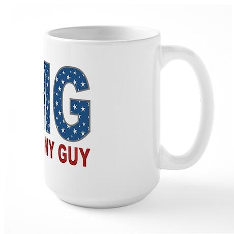 OMG Obama's My Guy Large Mug