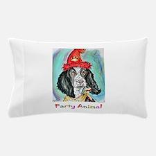 Party! Animal, fun dog! Pillow Case