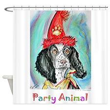 Party! Animal, fun dog! Shower Curtain