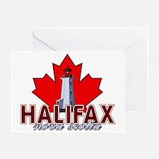 Halifax Lighthouse Greeting Card
