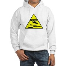 Caution! Alien Abduction! Hoodie