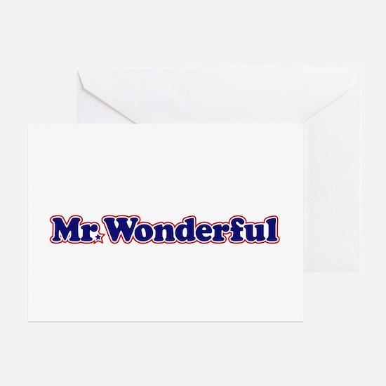 Mr Wonderful Greeting Card