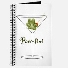 Paw-tini Drink Recipe Journal