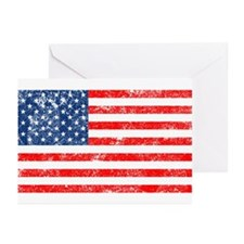 US Flag Greeting Cards (Pk of 20)