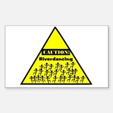 Caution! Riverdancing! Stickers