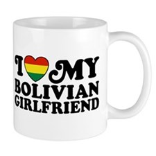 I Love My Bolivian Girlfriend Mug