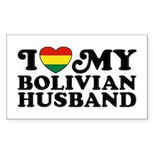 Bolivian Husband Decal