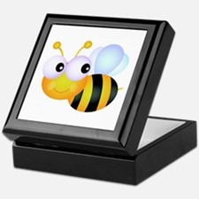 Cute Cartoon Bumble Bee Keepsake Box