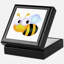 Cute Cartoon Bumble Bee Keepsake Box