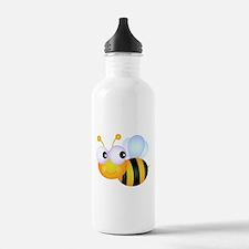 Cute Cartoon Bumble Bee Water Bottle