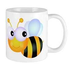 Cute Cartoon Bumble Bee Mug