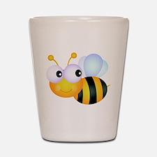 Cute Cartoon Bumble Bee Shot Glass