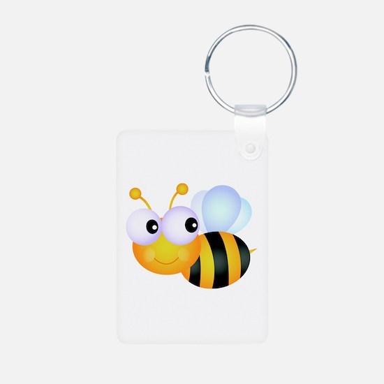 Cute Cartoon Bumble Bee Keychains