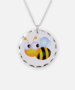 Cute Cartoon Bumble Bee Necklace