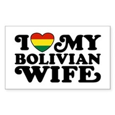 Bolivian Wife Decal