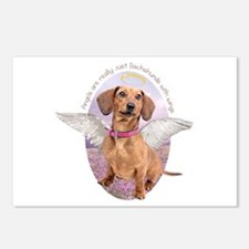 Dachshund Angel Postcards (Package of 8)