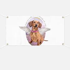 Dachshund Angel Banner