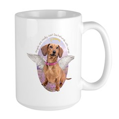 Dachshund Angel Mug