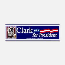 Clark G for President Car Magnet 10 x 3