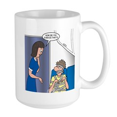 Airline Seatbelt Issues Mug