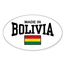 Made In Bolivia Decal