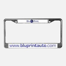 Cute Blu License Plate Frame