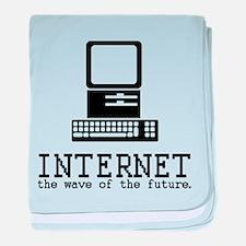 Internet baby blanket