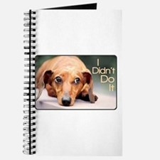 """I Didn't Do It"" Dachshund Journal"