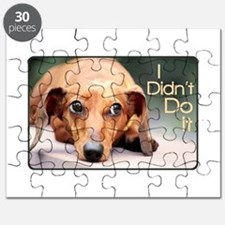 """I Didn't Do It"" Dachshund Puzzle"