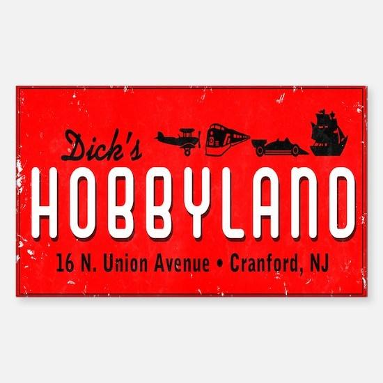 Dick's Hobbyland Sticker (Rectangle)