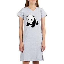 Baby Panda Cub Crawling Women's Nightshirt