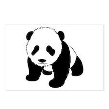 Baby Panda Cub Crawling Postcards (Package of 8)