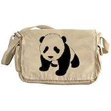 Baby Panda Cub Crawling Messenger Bag