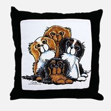 CKCS 2nd Generation Throw Pillow