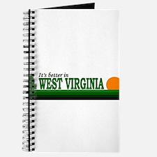 Unique West virginia mountaineers Journal