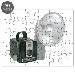 The Brownie Hawkeye Flash Model Puzzle