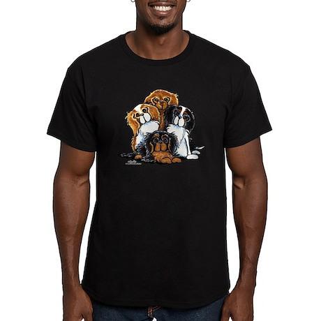 CKCS 2nd Generation Men's Fitted T-Shirt (dark)