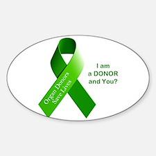 Organ Donor Sticker (Oval)
