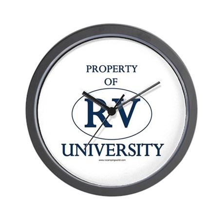 Property of RV University Wall Clock