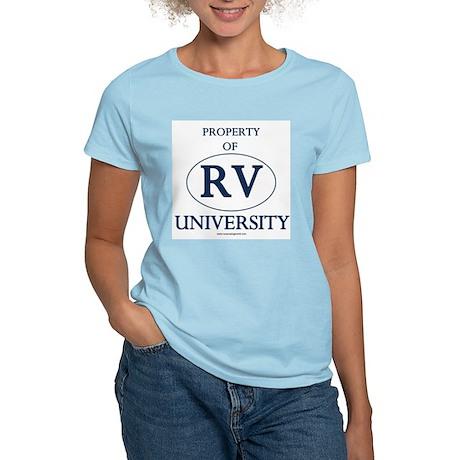 Property of RV University Women's Pink T-Shirt