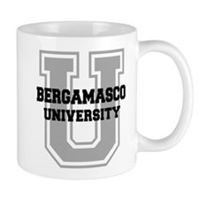 Bergamasco UNIVERSITY Small Mug