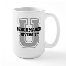 Bergamasco UNIVERSITY Mug